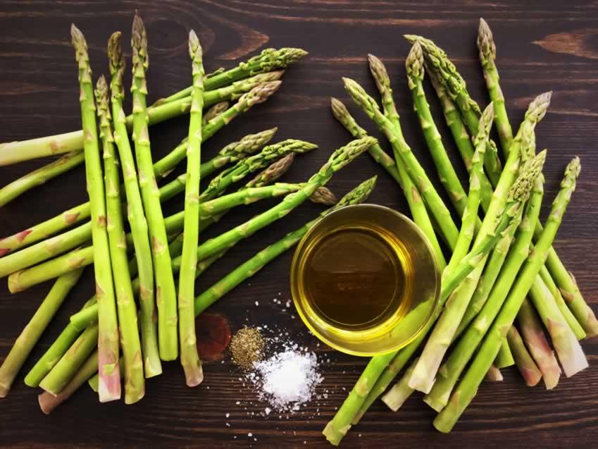 Grilled Asparagus Ingredients