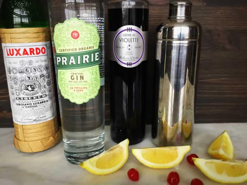 Aviation Gin Cocktail Ingredients