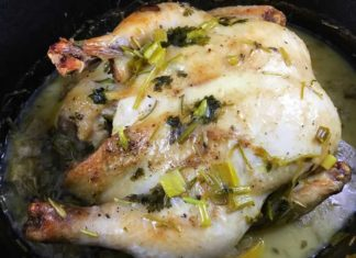 Chicken in Coconut Milk with Lemongrass