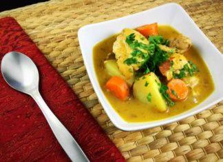 White Wine Chicken Stew
