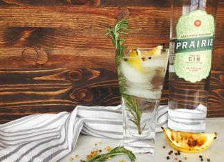 Charred Lemon, Rosemary and Coriander Gin and Tonic