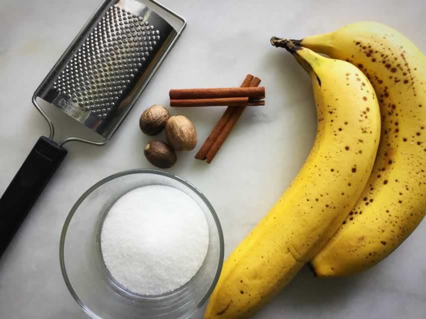 Pan Fried Cinnamon Bananas