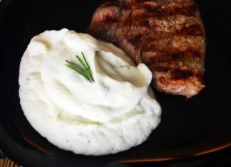 Rosemary & Garlic Mashed Cauliflower