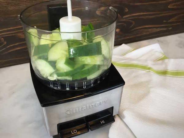 Cucumber Juice, Step 1