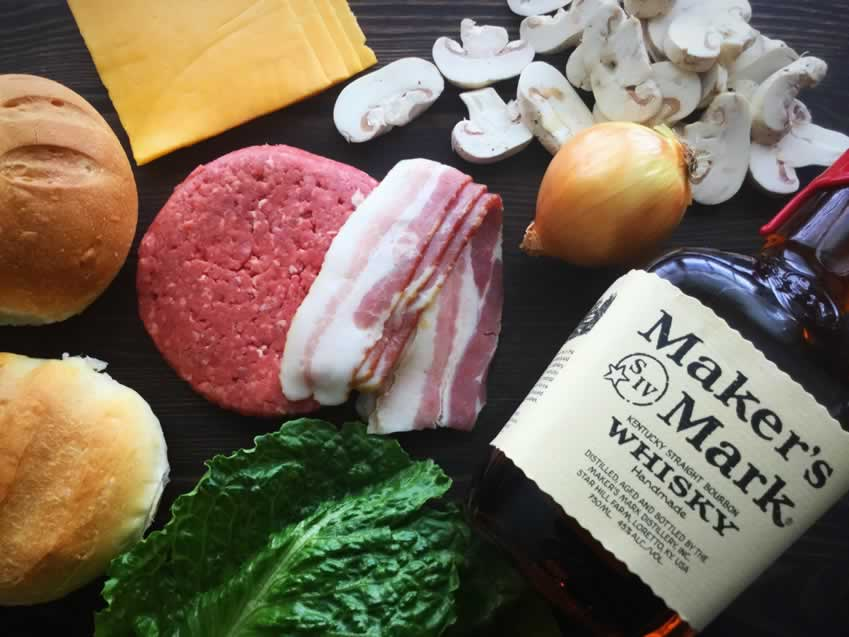 Whiskey Burgers Ingredients