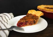 Maple Cranberry Pecan Pie