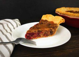 Maple Cranberry Pecan Pie