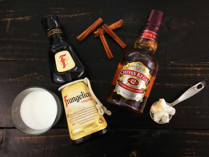 Hot Buttered Hazelnut Whisky Ingredients