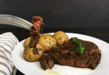 Tuscan-Style Grilled Ribeye Steak