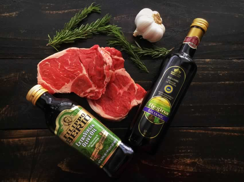 Tuscan-Style Grilled Ribeye Steak Ingredients