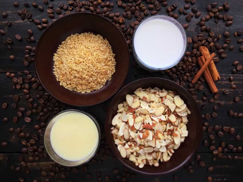 Horchata Cold Brew Latte Ingredients