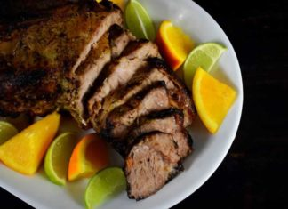 Cuban Mojo Marinated Pork (Lechon Asado)