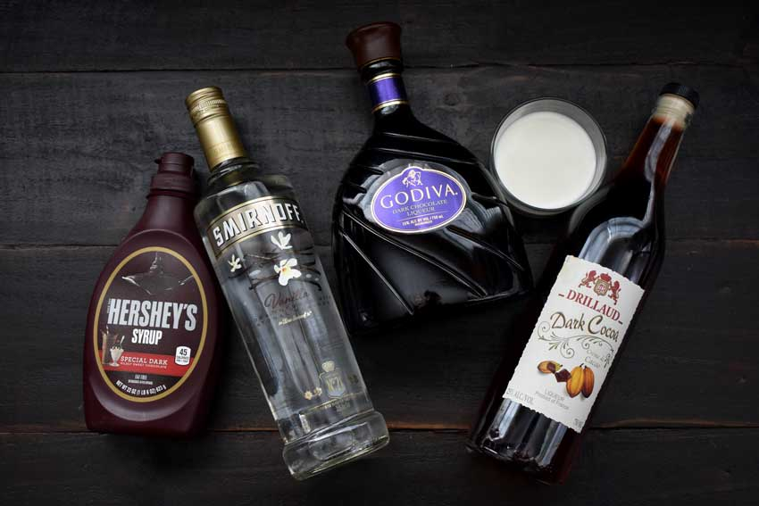 Chocolate Martini Ingredients