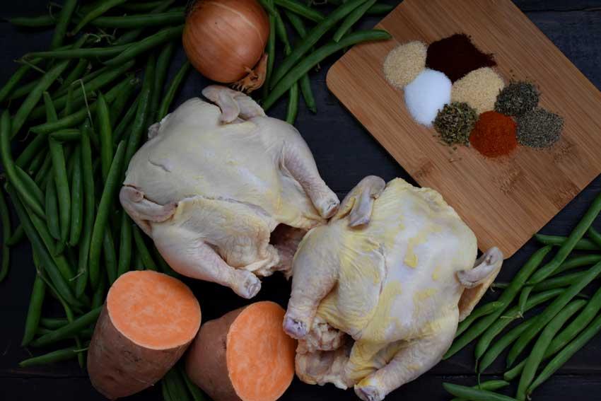 Slow Cooker Creole Cornish Hens Ingredients
