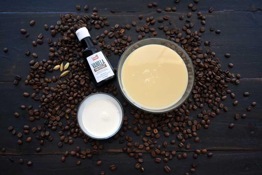 Spiced Vietnamese Coffee with Sweet Vanilla Cream Ingredients