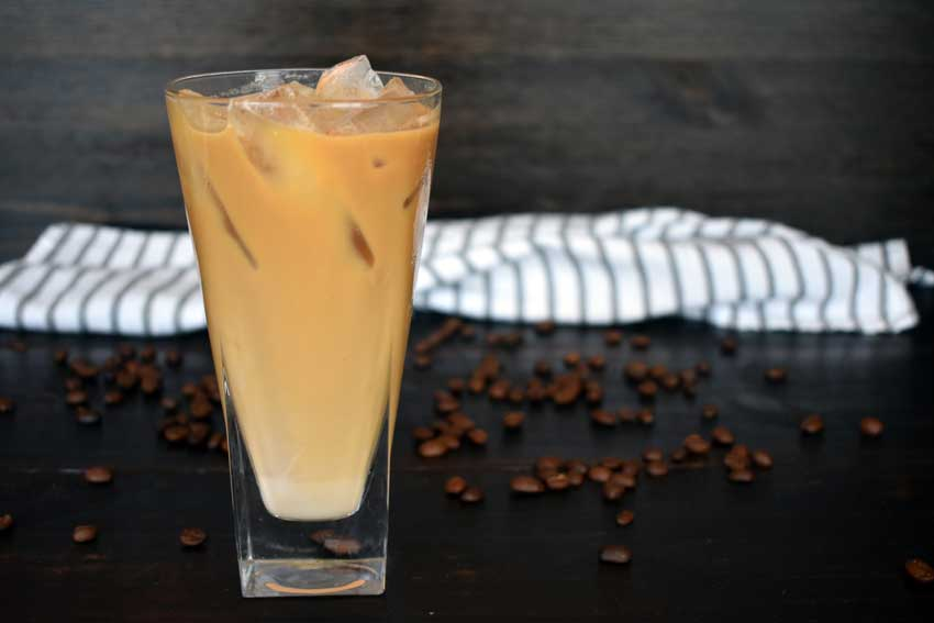 Spiced Vietnamese Coffee with Sweet Vanilla Cream