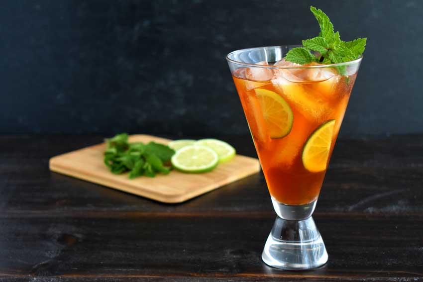 Ginger and Lemongrass Iced Tea