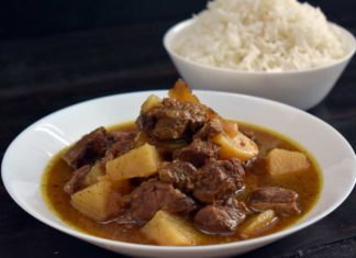Lamb Rogan Josh - Indian Kashmiri Mutton (Lamb) Curry