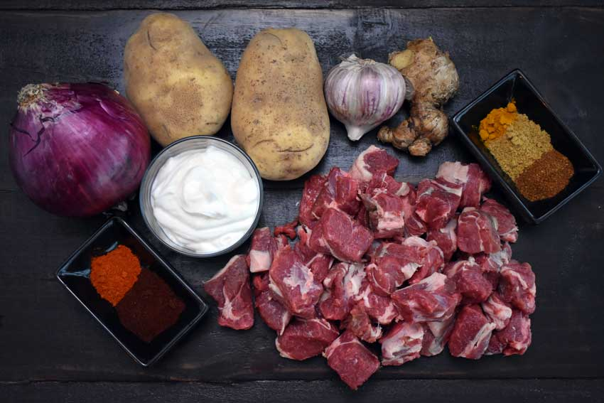Lamb Rogan Josh Ingredients