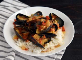 Tanzanian Style Mussel Curry