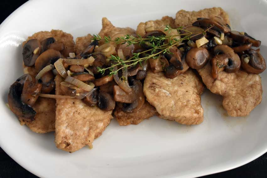 Pork Marsala with Mushrooms and Shallots