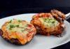 Easy Keto Lasagna Stuffed Portobello Mushrooms