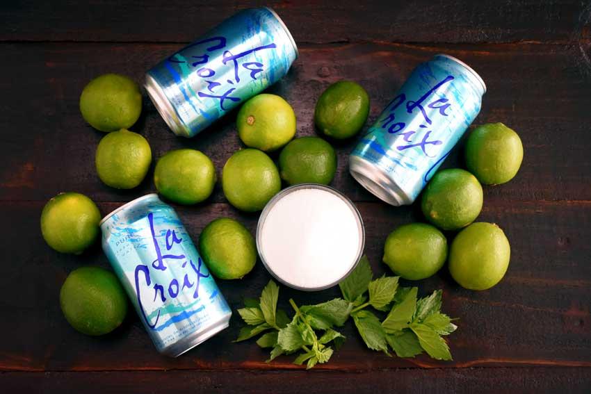 Mint Limeade Fizz Ingredients
