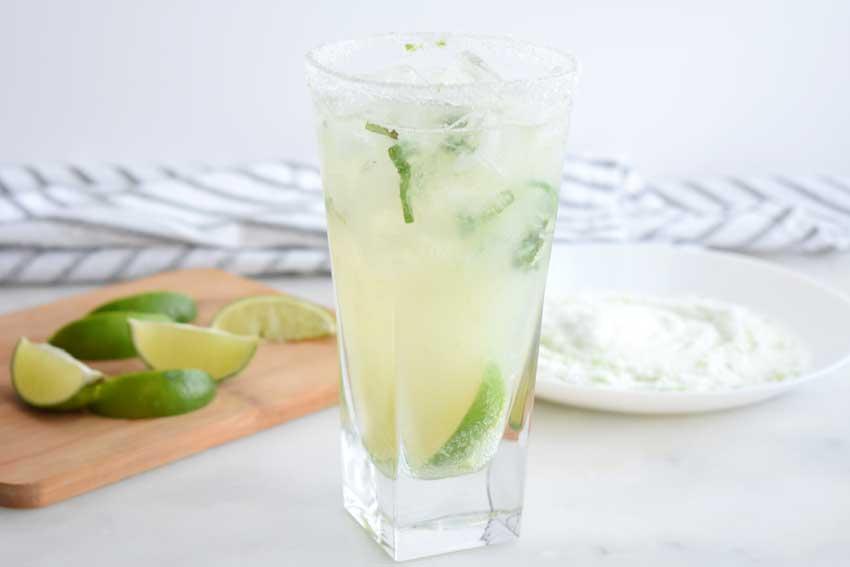 Mint Limeade Fizz