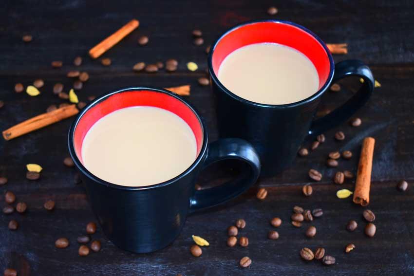 Pakistani Coffee with Cinnamon & Cardamom