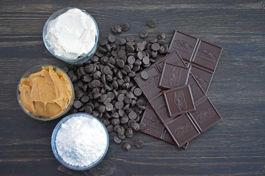 Peanut Butter Cheesecake Truffles Ingredients