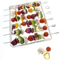Yukon Glory 6-Piece Skewer and Grill Rack Set