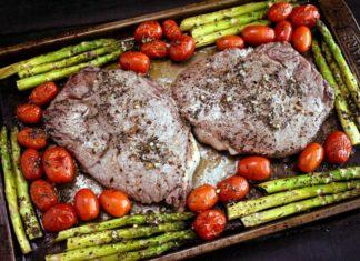 Steak and Veggies Sheet Pan Dinner