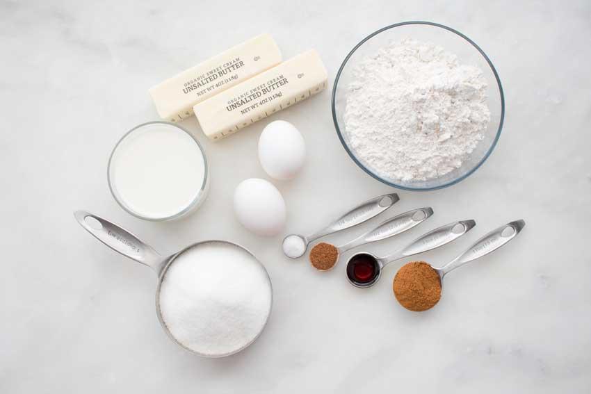 Cinnamon Donut Muffins Ingredients