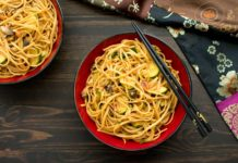 One Pot Spicy Thai Noodles