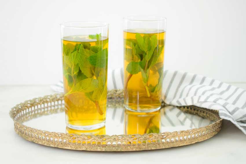 Sweet Moroccan Mint Tea