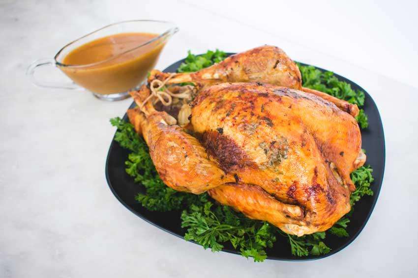 Herb Roasted Turkey with Gravy