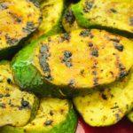 Lemon Garlic Grilled Zucchini
