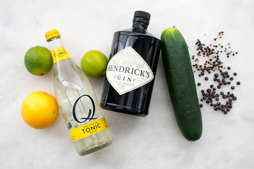 Spanish Gin Tonics Ingredients
