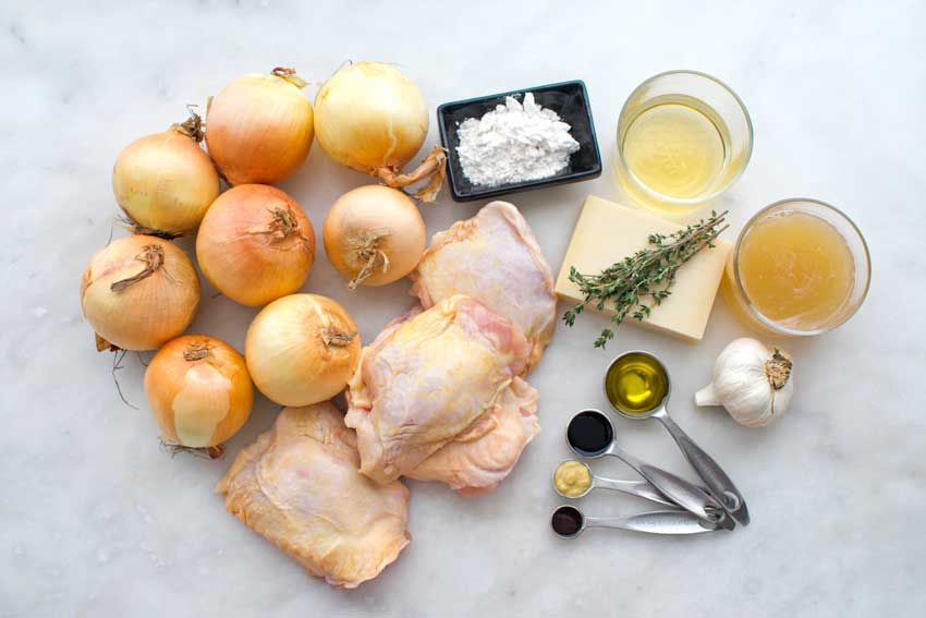 French Onion Chicken Ingredients