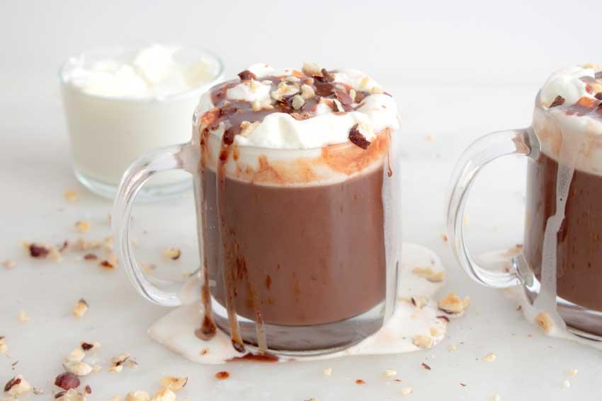 Hazelnut Italian Hot Chocolate
