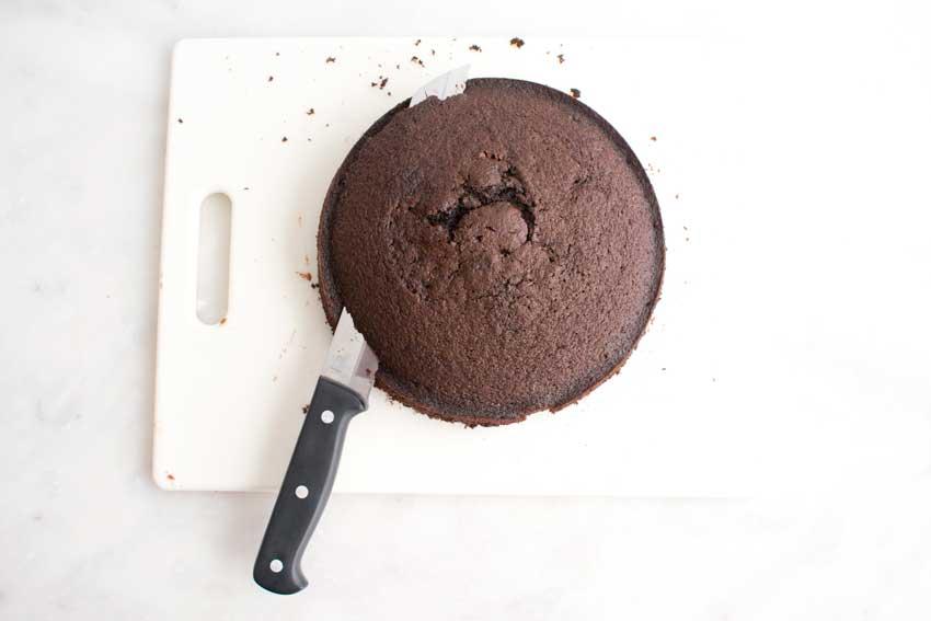Leveling the cake