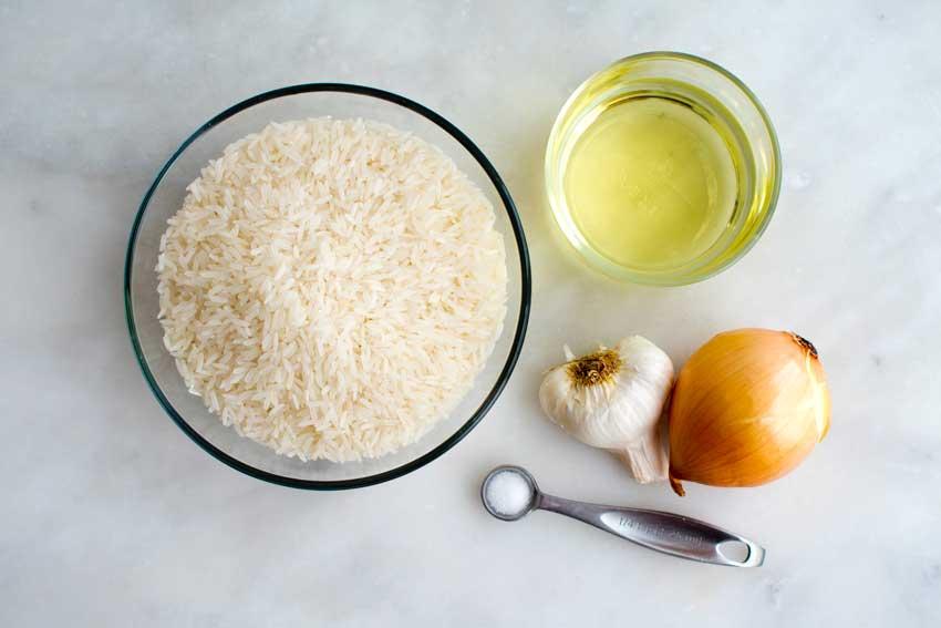 Brazilian Rice Ingredients