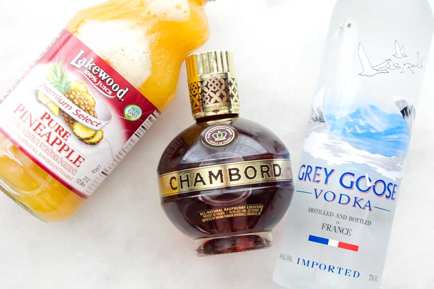 French Martini Ingredients