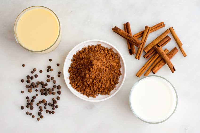 Peruvian Hot Chocolate Ingredients