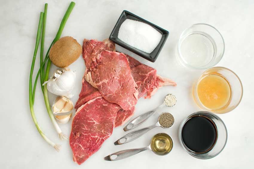 Bulgogi - Authentic Korean Beef BBQ Ingredients