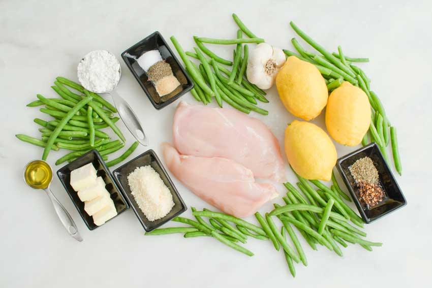 Skillet Garlic Lemon Butter Chicken Ingredients