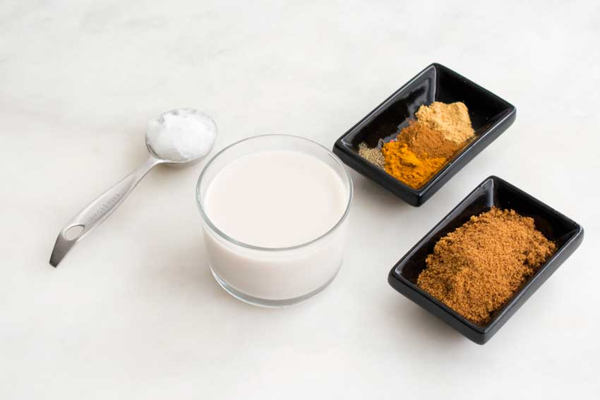 Turmeric Latte Ingredients