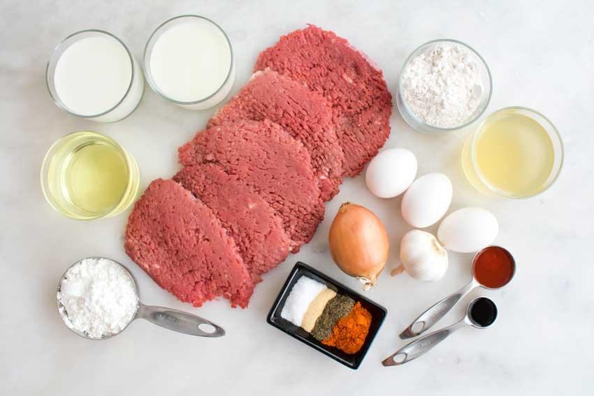 Chicken Fried Steak Ingredients