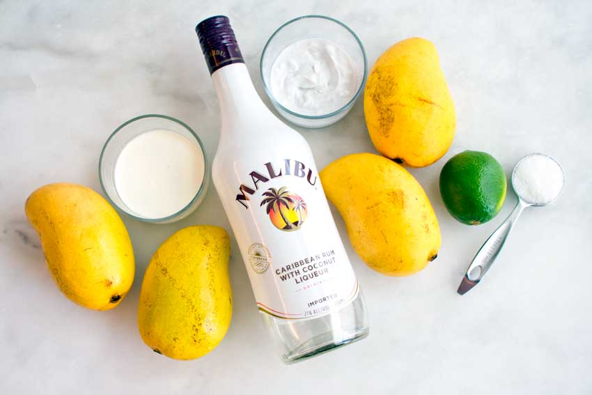 Mango Coconut Daiquiri Ingredients