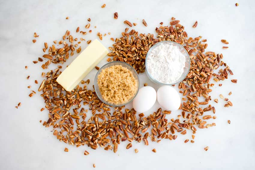 Southern Pecan Pie Muffins Ingredients